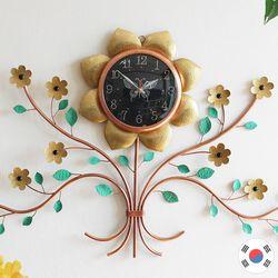 해바라기꽃 특대형 동공예품 벽시계 SBC-111