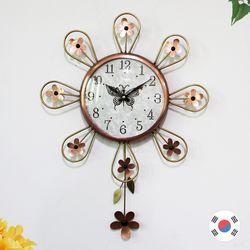 꽃어울림 동공예품 추벽시계 SBC-310