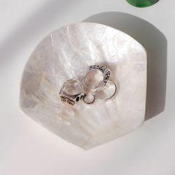 인어공주 조개 (자개) 트레이  나전칠기 악세사리