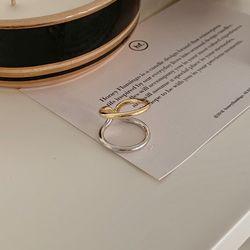 투톤 반지