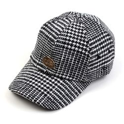 GDMT Glen Check Wool Ballcap 울볼캡