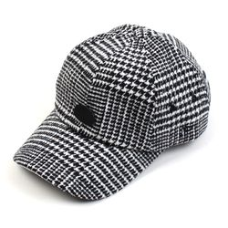 BKMT Glen Check Wool Ballcap 울볼캡