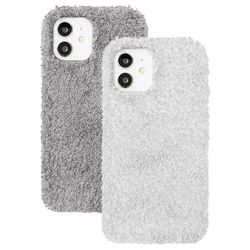 아이폰11 뽀글이 심플 컬러 커버 젤리 케이스 P571