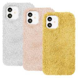 아이폰11프로맥스 뽀글이 심플 컬러 젤리 케이스 P571