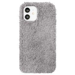 아이폰12미니 뽀글이 심플 컬러 젤리 케이스 P571