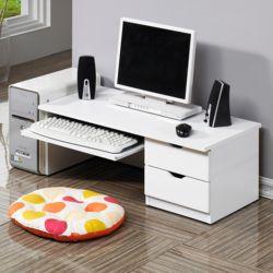 좌식컴퓨터책상H 서랍장 컴퓨터용 낮은책상