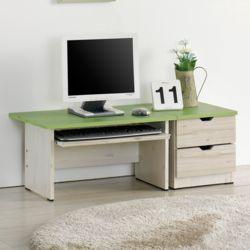 좌식컴퓨터책상세트A 책상세트 2단서랍 바닥책상