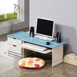좌식컴서랍세트BA 2단서랍 앉은책상 협탁 책상세트
