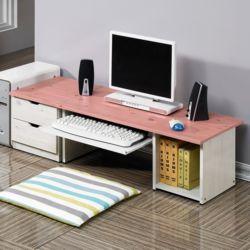 좌식컴퓨터책상세트C 2단협탁 앉는책상 좌식형