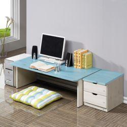 좌식컴서랍세트GA 노트북책상 PC 책상 2단서랍
