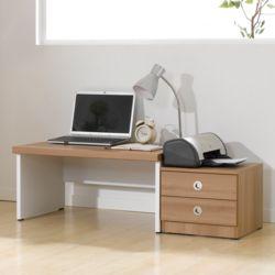 클래식좌식세트A 2단 서랍장 컴퓨터 학생 서재용