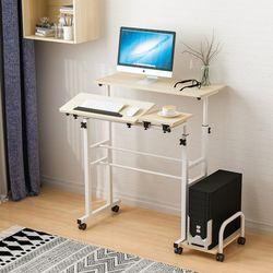 카라스탠딩책상A 높이조절 각도조절 노트북테이블
