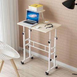 카라스탠딩책상D 높낮이책상 스탠딩 노트북테이블