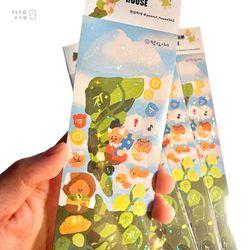 땅콩나무 스티커