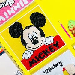 DIY 디즈니 미키마우스 보석십자수