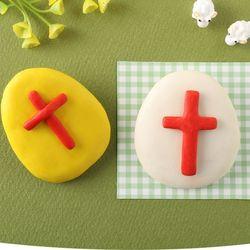 부활절비누만들기(4개)쪼물락비누주일학교교회공예