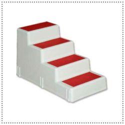 애견하우스 신한펫 4단 계단 AST-45 (레드)