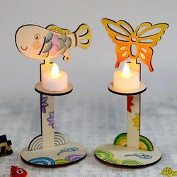 아름다운문양촛대만들기(1개)전통만들기우리나라
