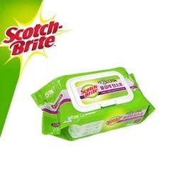 3M 스카치 브라이트 물걸레 청소포 리필 표준형 20매
