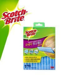 3M 스카치 브라이트 극세사 청소포 패드 표준형 1매