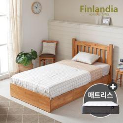 핀란디아 댄디 슈퍼싱글침대SS(서랍형)+독립형매트리스