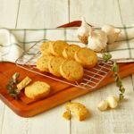 저당 저탄수 마늘 바질 쿠키
