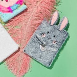 Fluffy 인형 털노트 (토끼 그레이)
