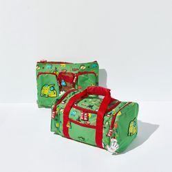 그린 보스턴백 소형 여행가방