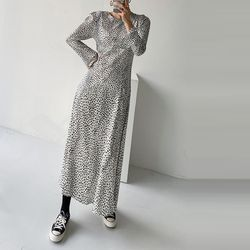 Leopard Bell Long Dress