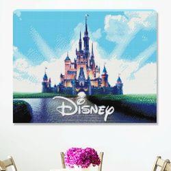 DIY 디즈니 캐슬 보석십자수