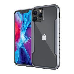 아이폰 11프로맥스 유니쉘 3중 범퍼 케이스 흑그레이