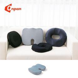 메모리폼 도넛방석 바른자세 의자방석 쿠션 메쉬젤U형