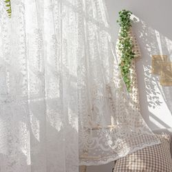 클레어 레이스 창문형 가리개 속커튼 140x173cm