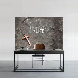 [주문제작] 더워드 영상배경현수막- the Cross