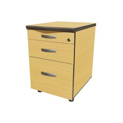 고급목재이동서랍 목재 3단 이동서랍 책상서랍장