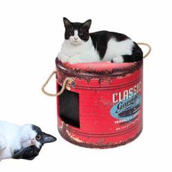 탱크모양 강아지 고양이 하우스 (Garage)
