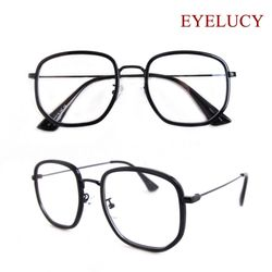 솔텍스 안경 오버사이즈 모던한 가벼운 안경테 4615