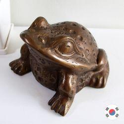 재물복 엔틱 두꺼비 동공예 장식품 STD-510