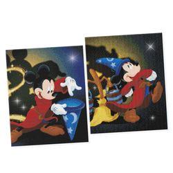 DIY 디즈니 판타지아 미키마우스 보석십자수