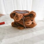 곰돌이 미니 보조가방 (파우치)