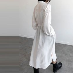 Unban Long Shirts Dress