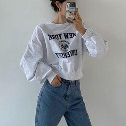 New York Crop Sweatshirt
