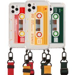 카세트 테이프 목걸이-갤럭시 S21+