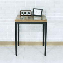 브릭테이블A 600X600 1인 2인 식탁 업소용 테이블