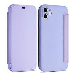 아이폰8플러스 소프트 레더 컬러 가죽 케이스 P573
