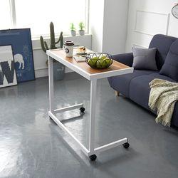 보리아 멀바우 이동식 소파 테이블 640
