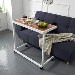 보리아 멀바우 이동식 소파 테이블 840
