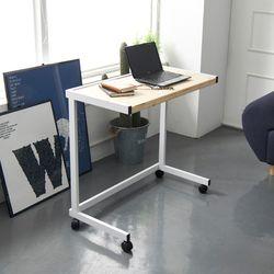 보리아 레드파인 이동식 소파 테이블 840