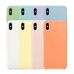아이폰 7+/8+ 크레파스 실리콘 케이스-오렌지