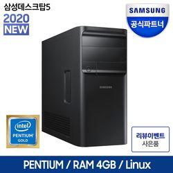 삼성전자 데스크탑 5 DM500TCZ-AD2A 펜티엄 RAM 4GB HDD 1TB